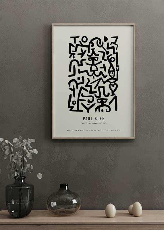 Paul Klee Comedians-2