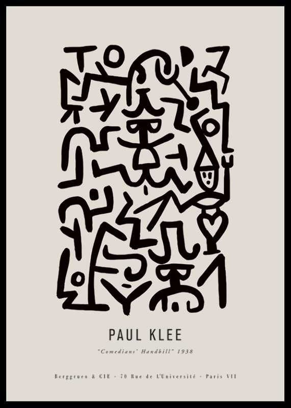 Paul Klee Comedians-0