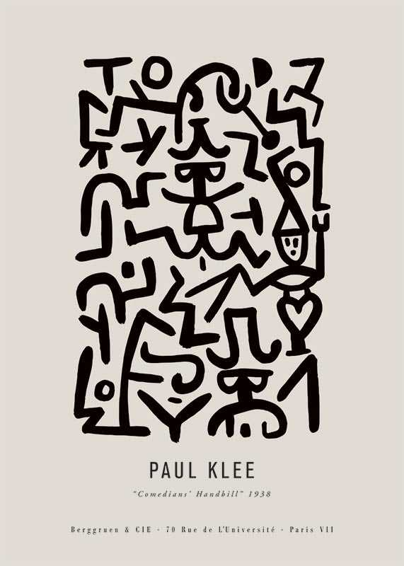 Paul Klee Comedians-1