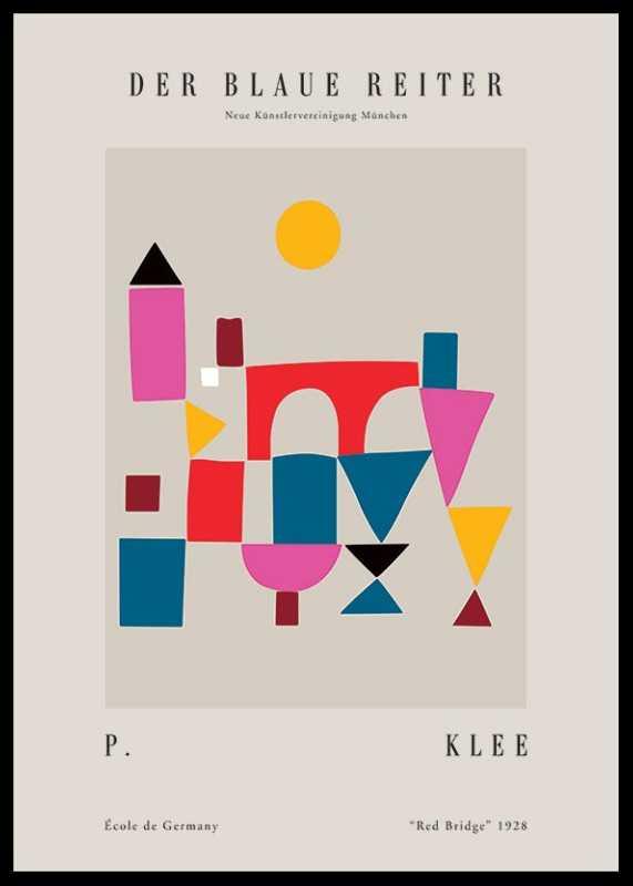 Paul Klee Blaue Reiter-0