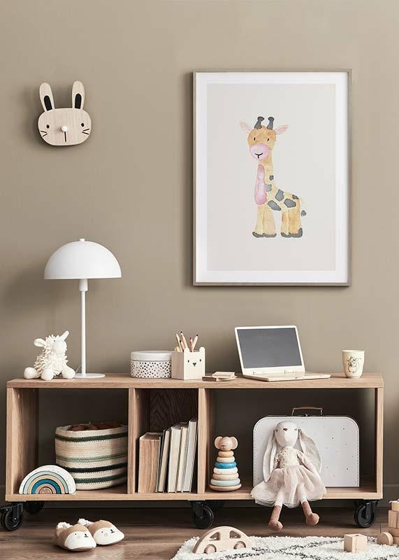 Watercolor Giraffe-4