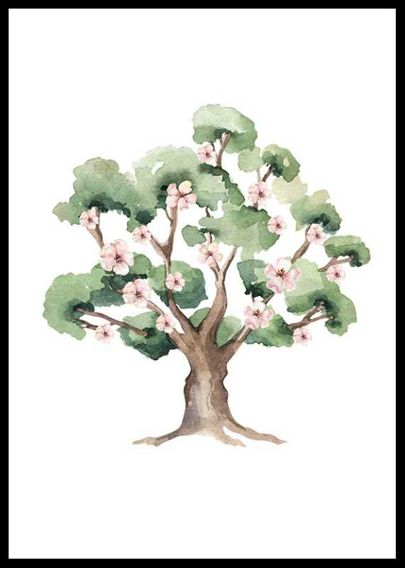 Painted Tree No1-0