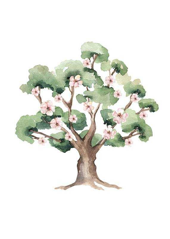 Painted Tree No1-1