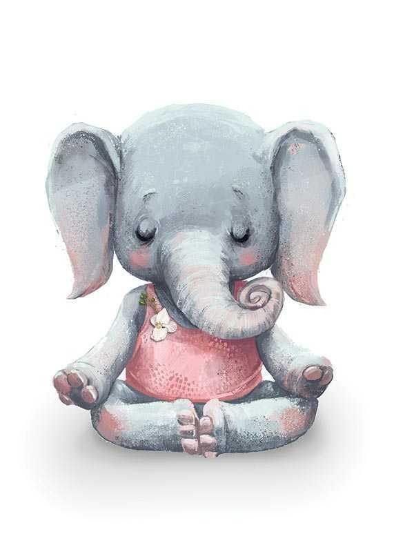 Yoga Elephant-1