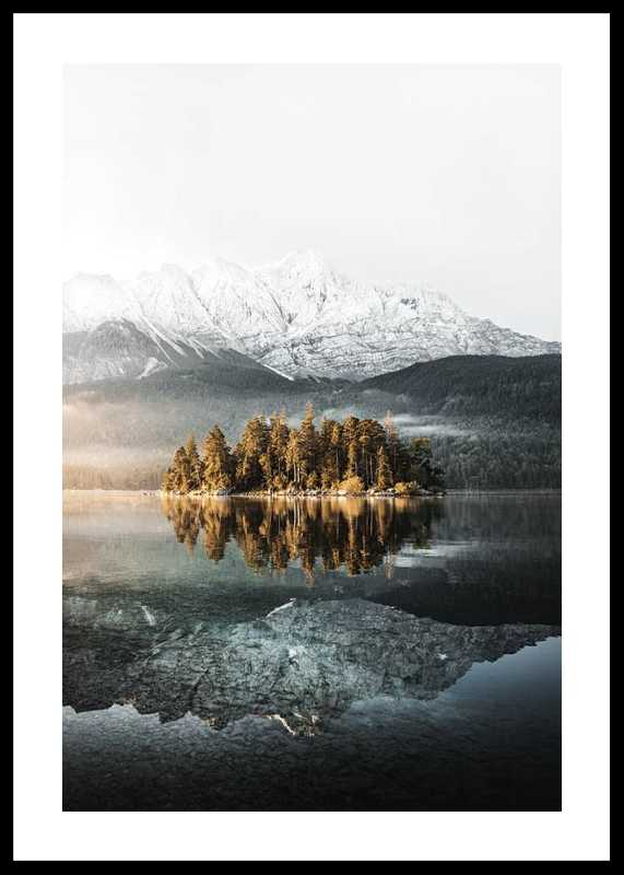 Lake By Mountains